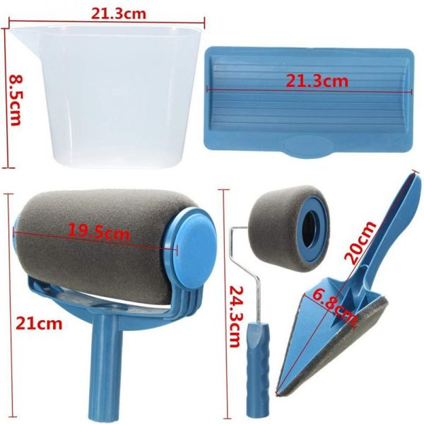 Great 8 Pcs Wall Decorate Painting Roller Brush Set 3