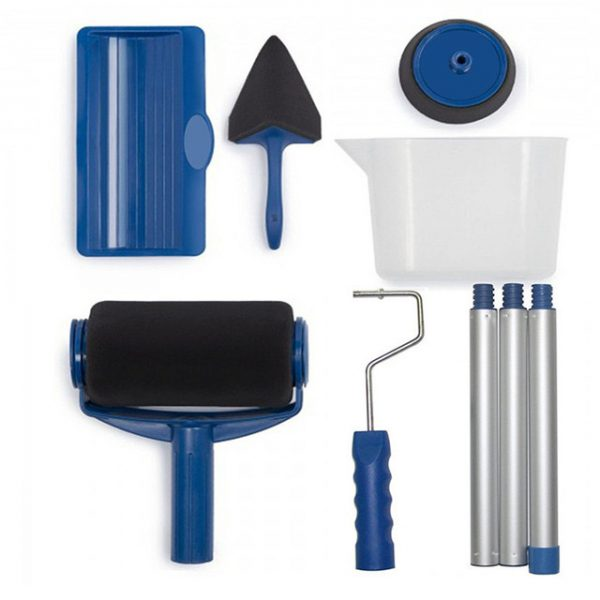 Great 8 Pcs Wall Decorate Painting Roller Brush Set