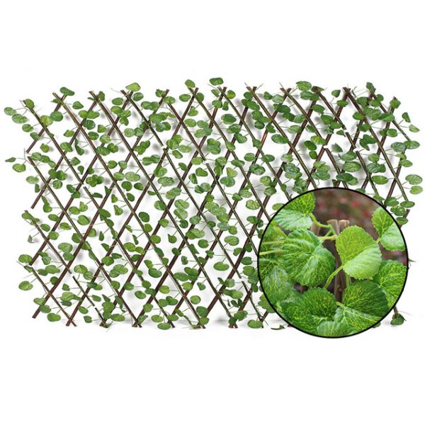 Great Green Vine Expandable Faux Privacy Fence