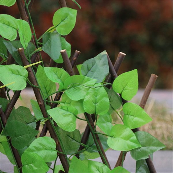 Great Green Vine Expandable Faux Privacy Fence 13