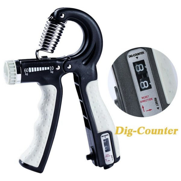 Hand Gripper Adjustable with Counter