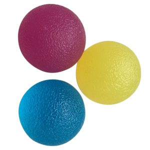 Hand Therapy Ball Grip Ball (3 Pcs)