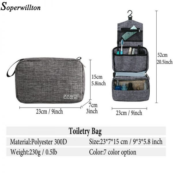 Hanging Toiletry Bag For Traveling 1