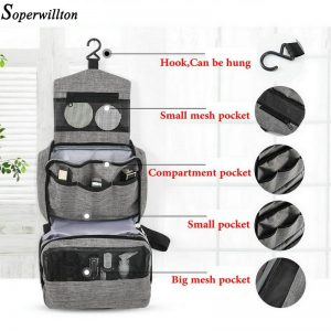 Hanging Toiletry Bag For Traveling