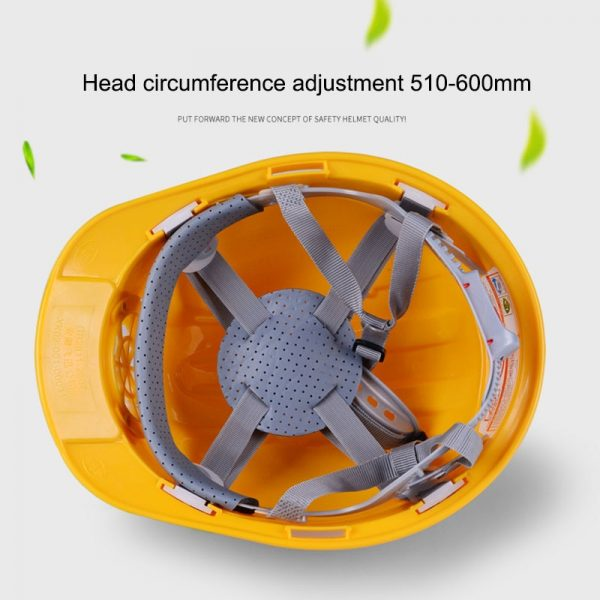 Hard Hat with Fan Solar Powered 1