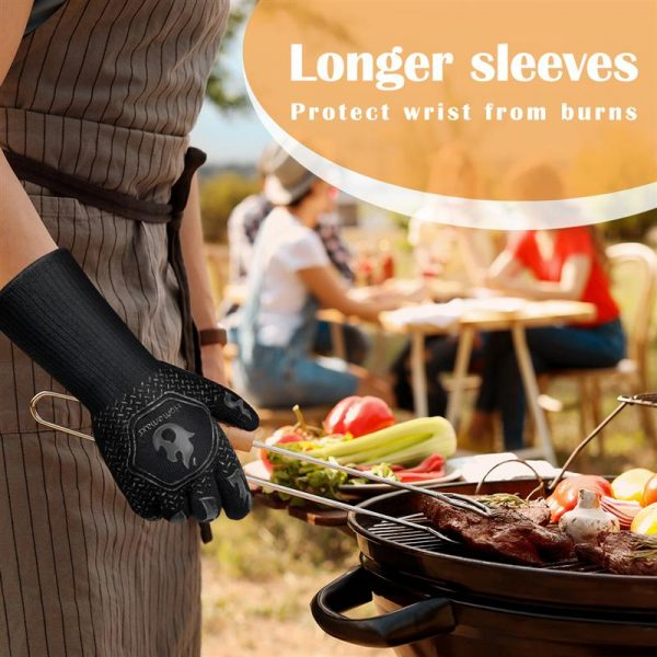Heat Resistant Grill Gloves 1