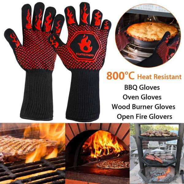 Heat Resistant Grill Gloves 2