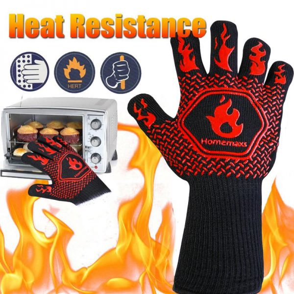 Heat Resistant Grill Gloves 3