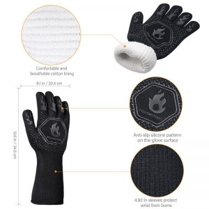 Heat Resistant Grill Gloves