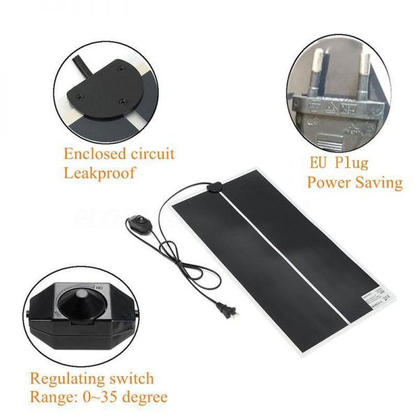 Heated Pet Mat with Temperature Adjuster 2