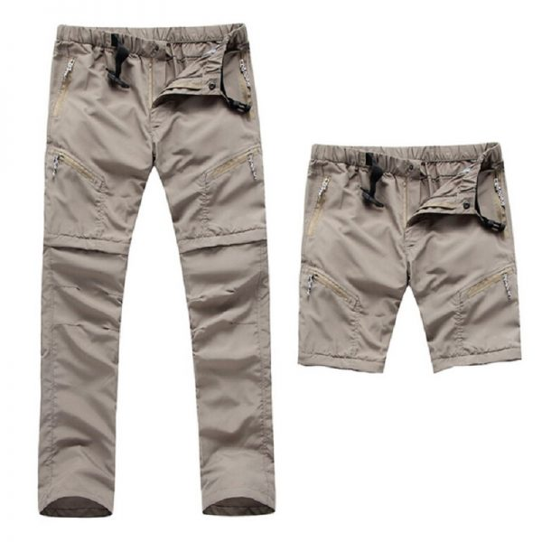 Hiking Pants Quick Dry Removable Shorts