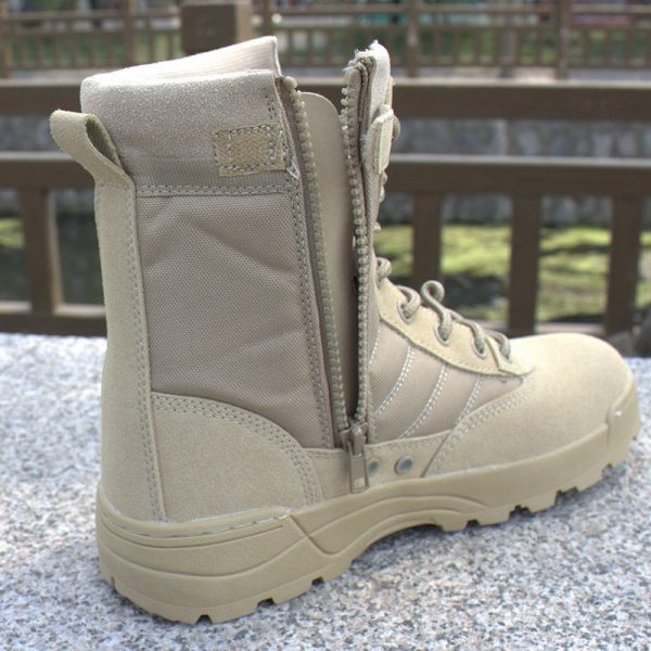 Hiking Shoes Unisex Military Style Boots 3