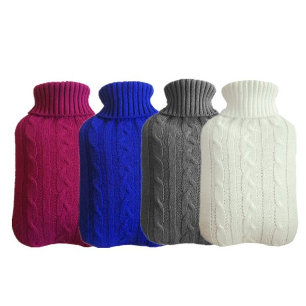 Hot Water Bottle Cover Knitted Design 3