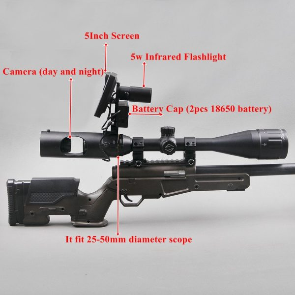 Hunting Scope with Digital Screen 3