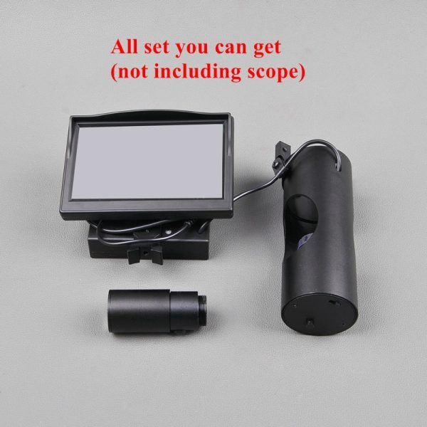 Hunting Scope with Digital Screen 4