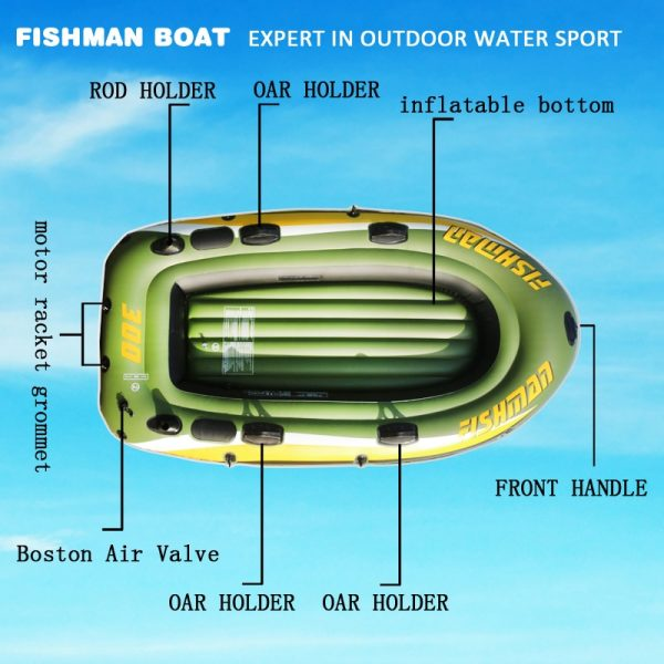 Inflatable Boat Outdoor Water Sports 2
