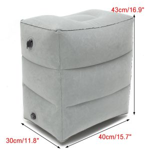 Inflatable Footrest Travel Cushion