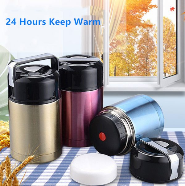 Insulated Food Jar Stainless Steel Flask 1
