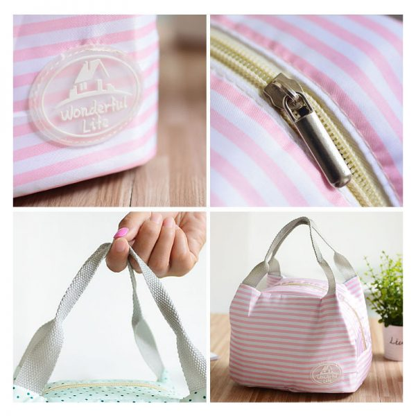 Insulated Lunch Bag For Women Thermal Bag 3