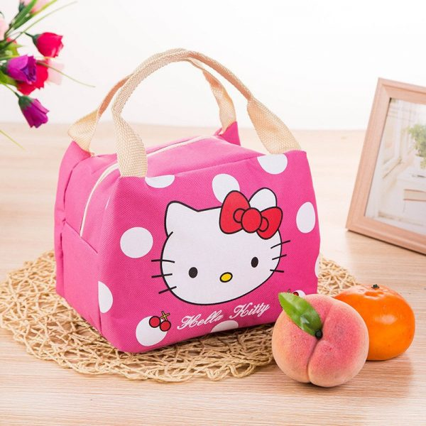 Insulated Lunch Tote Cartoon Design