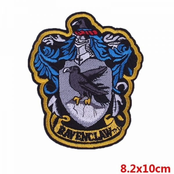 Iron On Patches Magic School Badges 2
