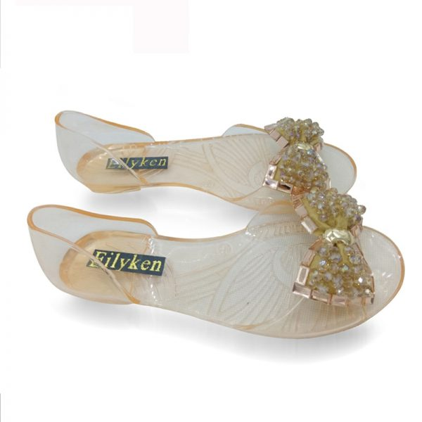 Jelly Sandals Ladies Flat Shoes 1