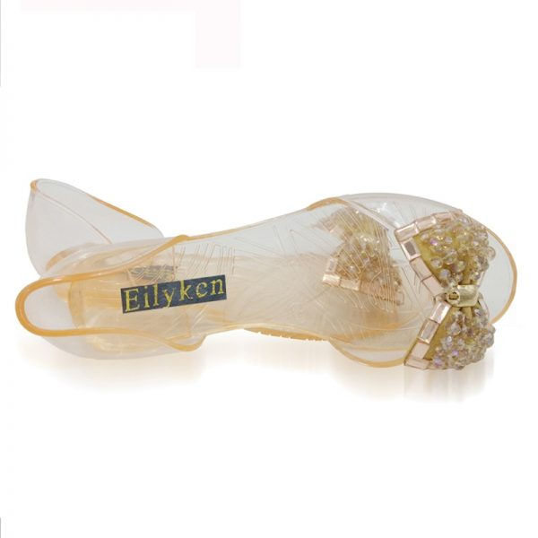Jelly Sandals Ladies Flat Shoes 2