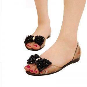 Jelly Sandals Ladies Flat Shoes