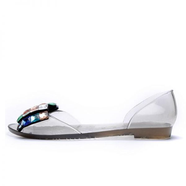 Jelly Sandals Ladies Flat Shoes 4
