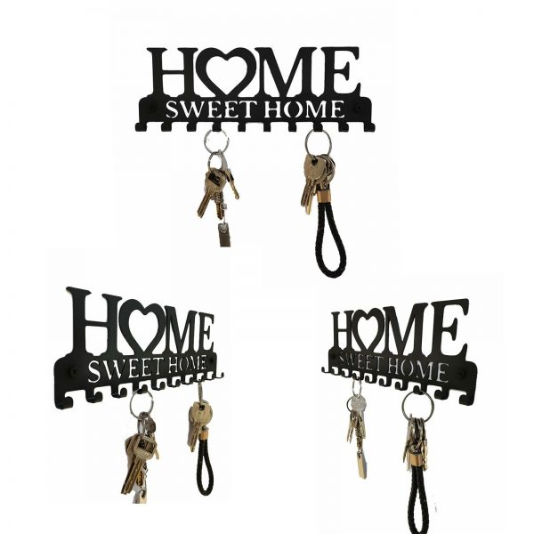 Key Holder With 10 Individual Hooks For Sweet Home 2