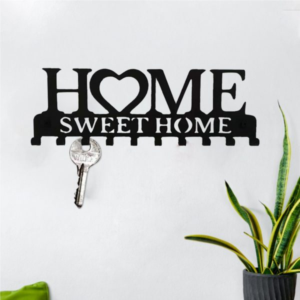 Key Holder With 10 Individual Hooks For Sweet Home 3