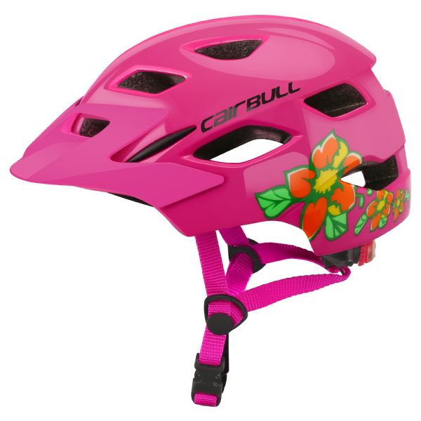 Kids Cycle Helmet with Tail Light 3