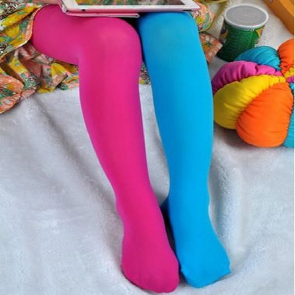 Kids Tights Candy Colored Stockings 2