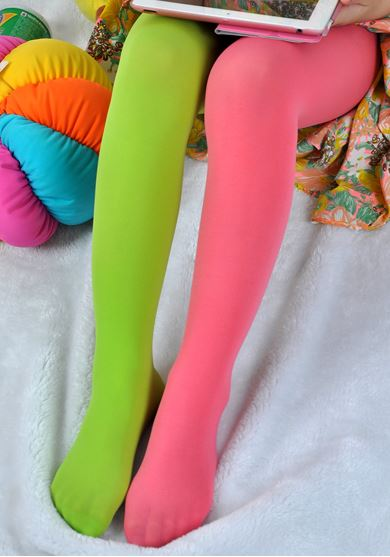 Kids Tights Candy Colored Stockings 3