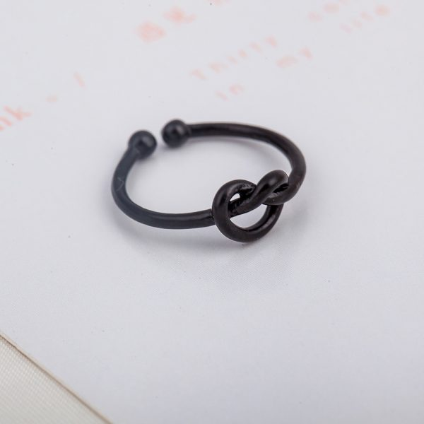 Knot Ring Adjustable Promise Ring