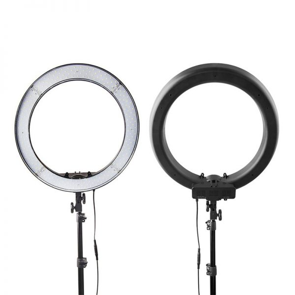 LED Ring Light With Stand Dimmable Light 1