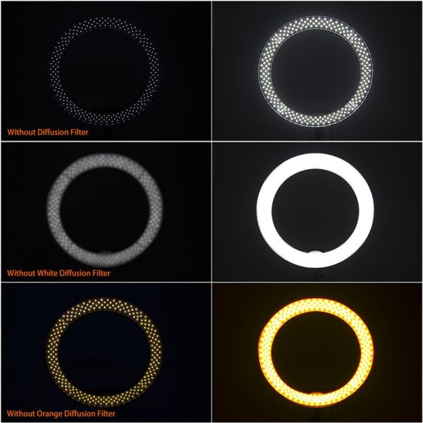 LED Ring Light With Stand Dimmable Light 2