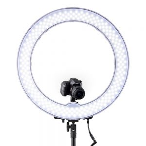 LED Ring Light With Stand Dimmable Light