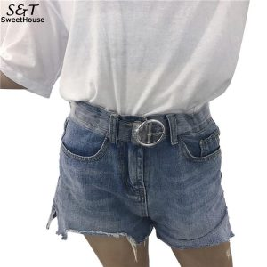 Ladies Belts Clear Band Strap
