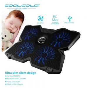 Laptop Fan Stand Gaming Cooler Pad