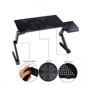 Laptop Table For Bed Portable Stand Desk