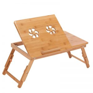 Laptop Tray for Bed Foldable Table with Cooling Fans