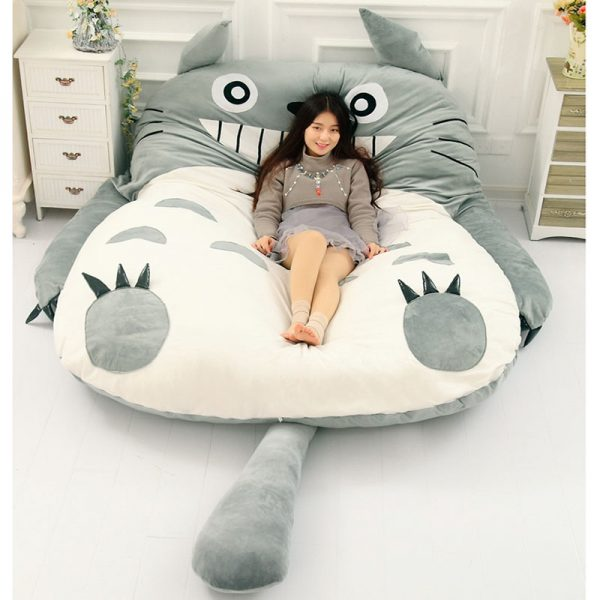 Lazy Bed Couch Tatami Mattress Chinchillas Lengthened Thickened Bed 3