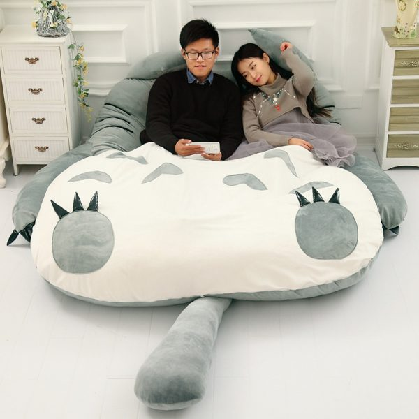 Lazy Bed Couch Tatami Mattress Chinchillas Lengthened Thickened Bed 4