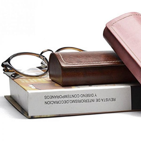 Leather Glasses Case Waterproof Case 1