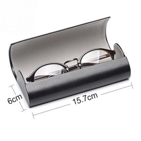 Leather Glasses Case Waterproof Case 2