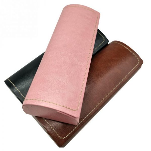 Leather Glasses Case Waterproof Case 3
