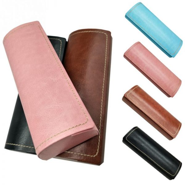 Leather Glasses Case Waterproof Case