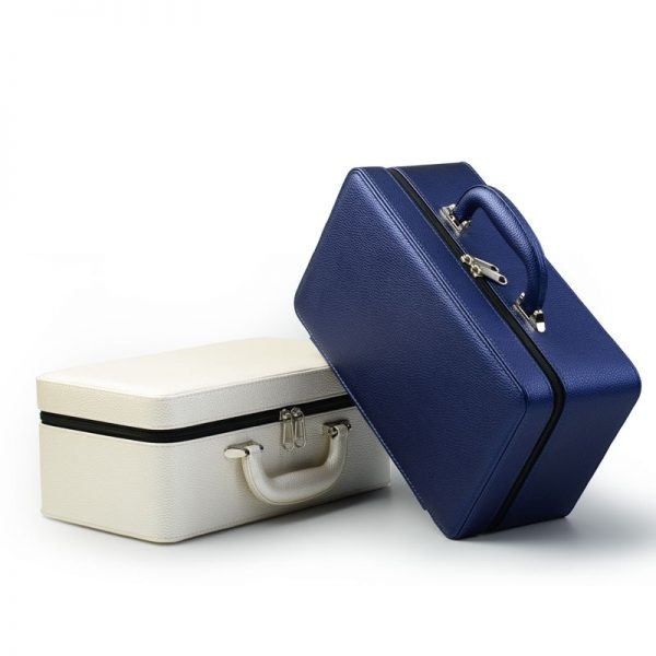 Leather Jewelry Box Portable Case 1