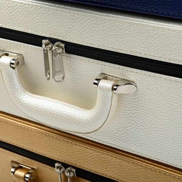 Leather Jewelry Box Portable Case 4